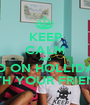 KEEP CALM AND GO ON HOLLIDAY WITH YOUR FRIENDS - Personalised Poster A1 size