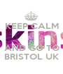 KEEP CALM   AND GO TO BRISTOL UK - Personalised Poster A1 size