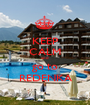 KEEP CALM and go to REDENKA - Personalised Poster A1 size