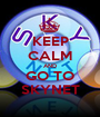 KEEP CALM AND GO TO SKYNET - Personalised Poster A1 size