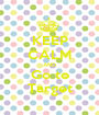 KEEP CALM AND Go to Target - Personalised Poster A1 size