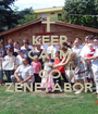 KEEP CALM AND GO ZENETÁBOR - Personalised Poster A1 size