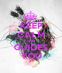 KEEP CALM AND GUIDES YOU - Personalised Poster A1 size