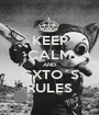 KEEP CALM AND GXTO´S RULES - Personalised Poster A1 size