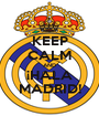 KEEP CALM AND ¡HALA MADRID! - Personalised Poster A1 size