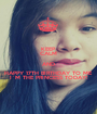 KEEP CALM AND HAPPY 17TH BIRTHDAY TO ME I`M THE PRINCESS TODAY! - Personalised Poster A1 size
