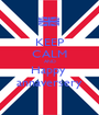 KEEP CALM AND Happy  annaversery - Personalised Poster A1 size