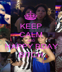 KEEP CALM AND HAPPY BDAY BITCH - Personalised Poster A1 size