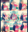 KEEP CALM AND HAPPY BDAY TRINITY =) - Personalised Poster A1 size