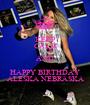 KEEP CALM AND HAPPY BIRTHDAY ALESKA NEBRASKA - Personalised Poster A1 size