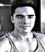 KEEP CALM AND HAPPY BIRTHDAY FERENC UR - Personalised Poster A1 size