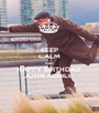 KEEP CALM AND HAPPY BIRTHDAY  JOHN NOBLE  - Personalised Poster A1 size