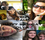 KEEP CALM AND HAPPY BIRTHDAY OLYA - Personalised Poster A1 size