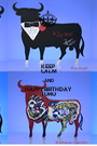 KEEP CALM AND HAPPY BIRTHDAY TORO - Personalised Poster A1 size
