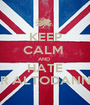 KEEP CALM  AND  HATE MR ALTODANNA - Personalised Poster A1 size