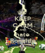 KEEP CALM AND hate Ronaldo - Personalised Poster A1 size