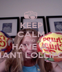 KEEP CALM AND HAVE A  GIANT LOLLIPOP - Personalised Poster A1 size
