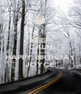 KEEP CALM AND HAVE A HAPPY BIRTHDAY JOYCE! - Personalised Poster A1 size