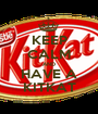 KEEP CALM AND HAVE A KITKAT - Personalised Poster A1 size