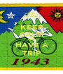 KEEP CALM AND HAVE A TRIP - Personalised Poster A1 size
