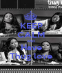 KEEP CALM AND Have Thug love - Personalised Poster A1 size
