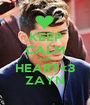 KEEP CALM AND HEART<3 ZAYN - Personalised Poster A1 size