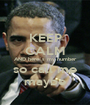 KEEP CALM AND here´s my number so call me maybe - Personalised Poster A1 size