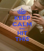 KEEP CALM AND HIT THIS - Personalised Poster A1 size