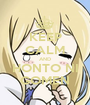 KEEP CALM AND HONTO NI GOMEN - Personalised Poster A1 size