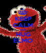 KEEP CALM AND HUG ELMO - Personalised Poster A1 size