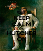 KEEP CALM AND HUTCHER ON - Personalised Poster A1 size