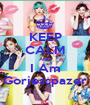 KEEP CALM AND I Am Gorjesspazer - Personalised Poster A1 size