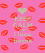 KEEP CALM AND i love bosna - Personalised Poster A1 size