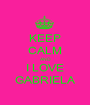 KEEP CALM AND I LOVE GABRIELA - Personalised Poster A1 size