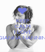 KEEP CALM AND I LOVE GIANNA NANNINI - Personalised Poster A1 size
