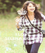 KEEP CALM AND I LOVE SELENA GOMEZ - Personalised Poster A1 size