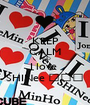 KEEP CALM AND I love  SHINee ♥♥♥ - Personalised Poster A1 size