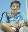KEEP CALM AND I LOVE THE RUTE  - Personalised Poster A1 size