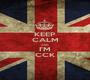 KEEP CALM AND I'M CCK - Personalised Poster A1 size