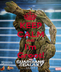 KEEP CALM AND I'm Groot! - Personalised Poster A1 size