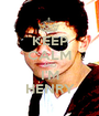 KEEP CALM AND I'M HENRY - Personalised Poster A1 size