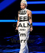 KEEP CALM AND I'm  Warrior - Personalised Poster A1 size