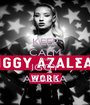 KEEP CALM AND IGGY AZALEA - Personalised Poster A1 size