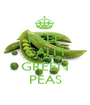 KEEP CALM AND INTAKE MORE GREEN PEAS - Personalised Poster A1 size