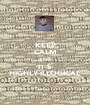 KEEP CALM AND IT'S HIGHLY ILLOGICAL - Personalised Poster A1 size