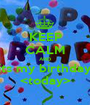 KEEP CALM AND its my birthday <today> - Personalised Poster A1 size