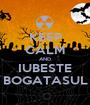 KEEP CALM AND IUBESTE BOGATASUL - Personalised Poster A1 size