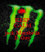 KEEP CALM and  jack Marabella Is Gay - Personalised Poster A1 size
