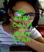 KEEP CALM AND JEAN  STAR - Personalised Poster A1 size