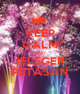 KEEP CALM AND JELEGER  PETASAN - Personalised Poster A1 size